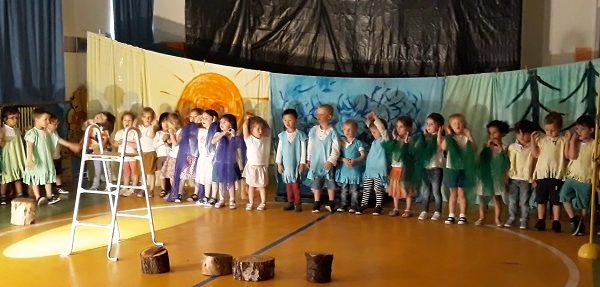 Spectacle maternelle Juin 2019